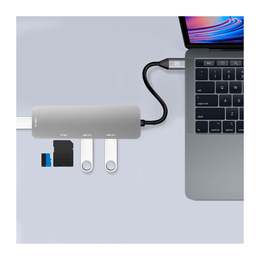 Celly HUB USB-C TO USB  SD  TF adapteri