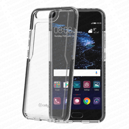 Celly Hexagon Huawei P10 suoja, Clear Black