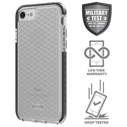 Celly Hexagon iPhone 66s78 suoja, Clear Black