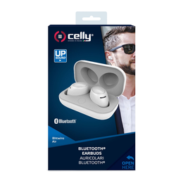 Celly True Wireless Earbuds Air, valkoinen
