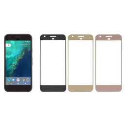 Google Pixel panssarilasi, 2.5D Full Cover Tempered Glass