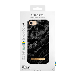 iDeal of Sweden iPhone iPhone 6 / 6S / 7 / 8 / SE 2020 Fashion Case, Noir Agate