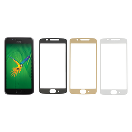 Lenovo Moto G5 panssarilasi, 2.5D Full Cover Tempered Glass