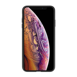 Nillkin Synthetic fiber suojakuori, Apple iPhone XR, Ruudullinen Musta