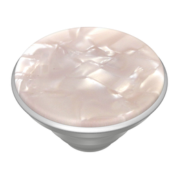 PopSockets PopGrip -pidike, Acetate Pearl White