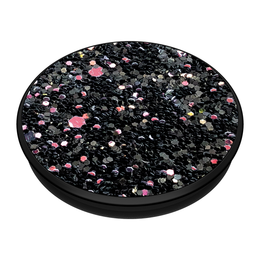 PopSockets PopGrip -pidike, Sparkle Black
