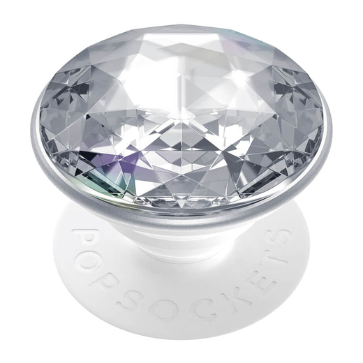 PopSockets PopGrip -pidike, Disco Crystal Silver