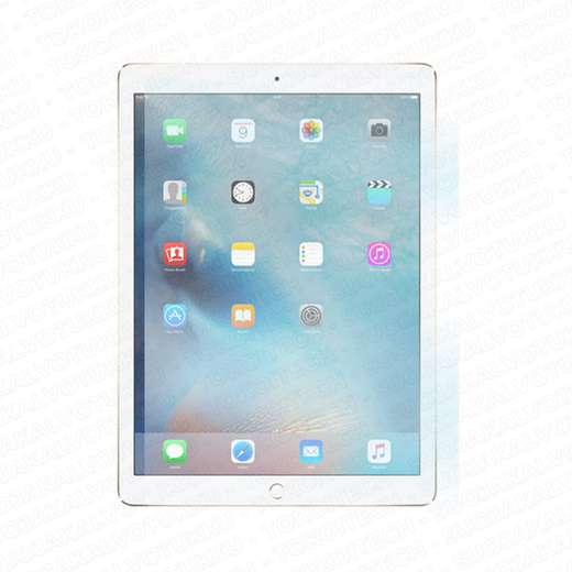 Apple iPad 9.7'' (2017 versio) panssarilasi, Tempered Glass