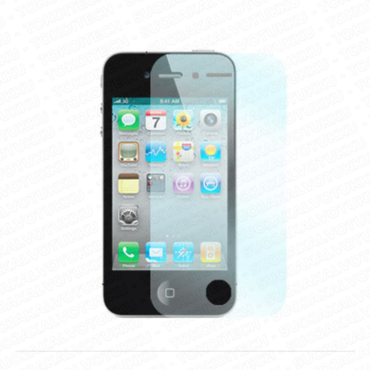 Apple iPhone 4/4S panssarilasi, Tempered Glass