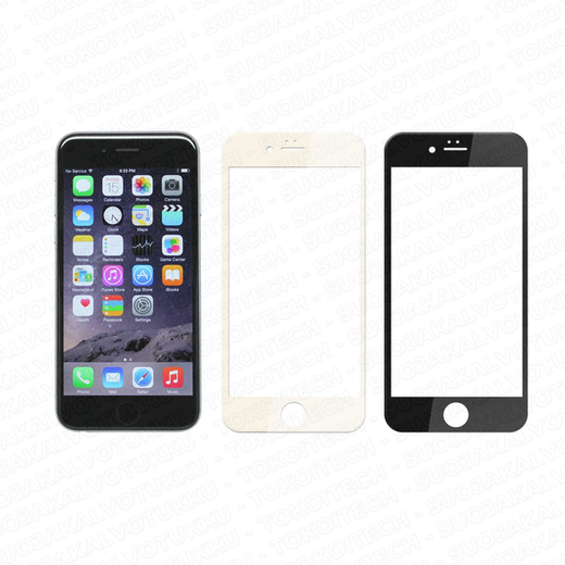 Apple iPhone 6/6S panssarilasi, 3D Full Cover Tempered Glass