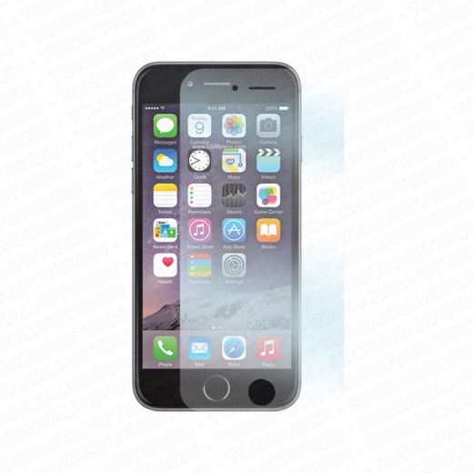 Apple iPhone 6/6S panssarilasi, Tempered Glass