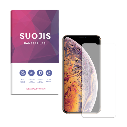 Apple iPhone XS Max / iPhone 11 Pro Max Suojis-panssarilasi, klassinen
