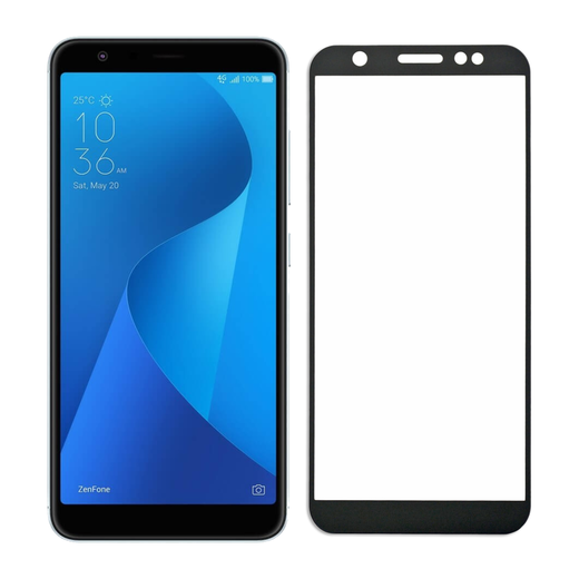 Asus ZenFone Max M1 panssarilasi, 2.5D Full Cover Tempered Glass