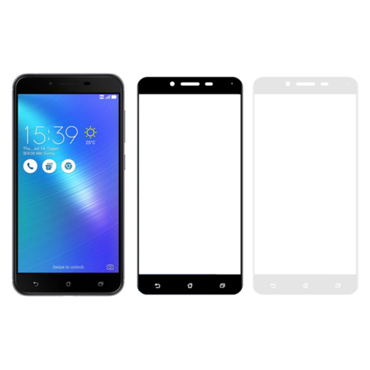 Asus Zenfone 3 Max panssarilasi, 2.5D Full Cover Tempered Glass
