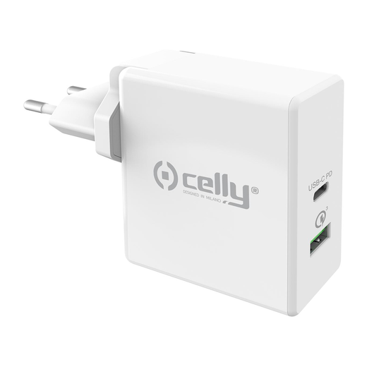 Celly TC USB-C PWR DELIVERY 30W laturi, valkoinen