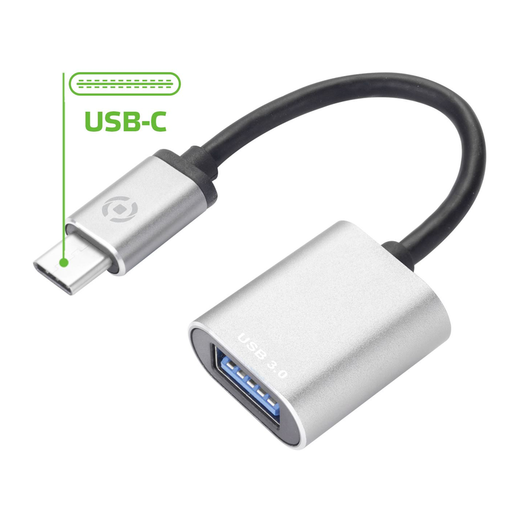 Celly USB-C to USB -adapteri
