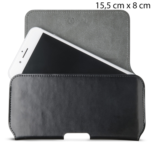 Celly vyölaukku Beltpro Case L, Musta