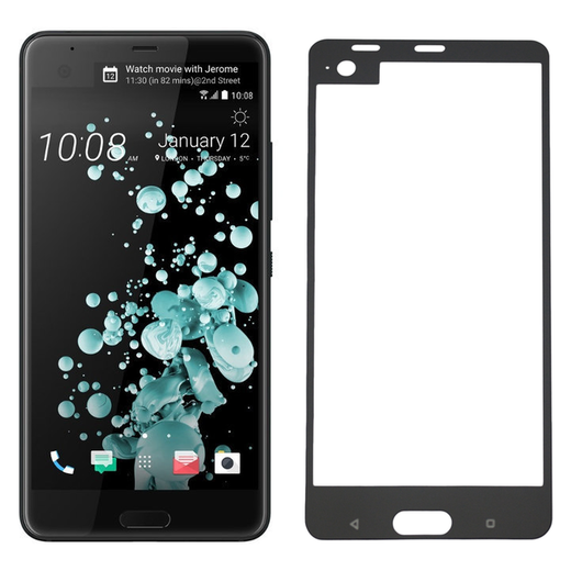 HTC U Ultra panssarilasi, 2.5D Full Cover Tempered Glass