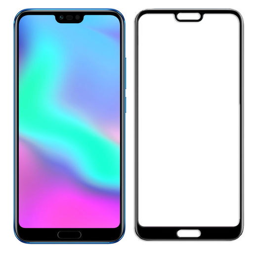 Huawei Honor 10 panssarilasi, 2.5D Full Cover Tempered Glass
