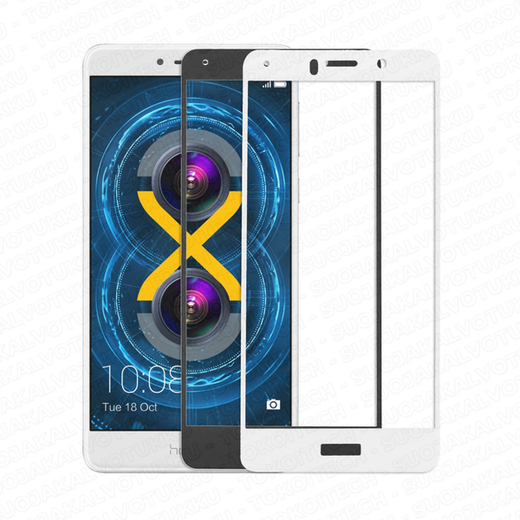 Huawei Honor 6X panssarilasi, 2.5D Full Cover Tempered Glass