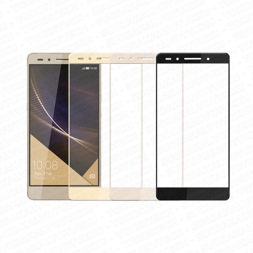 Huawei Honor 7 panssarilasi, 2.5D Full Cover Tempered Glass