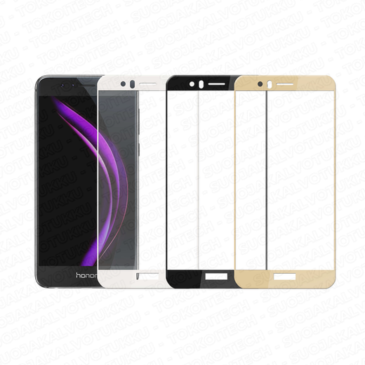 Huawei Honor 8 panssarilasi, 2.5D Full Cover Tempered Glass