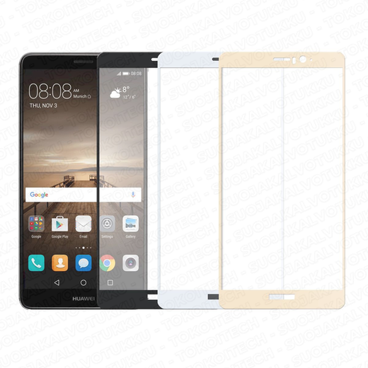 Huawei Mate 9 panssarilasi, 2.5D Full Cover Tempered Glass
