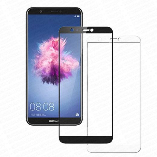 Huawei P Smart panssarilasi, 2.5D Full Cover Tempered Glass