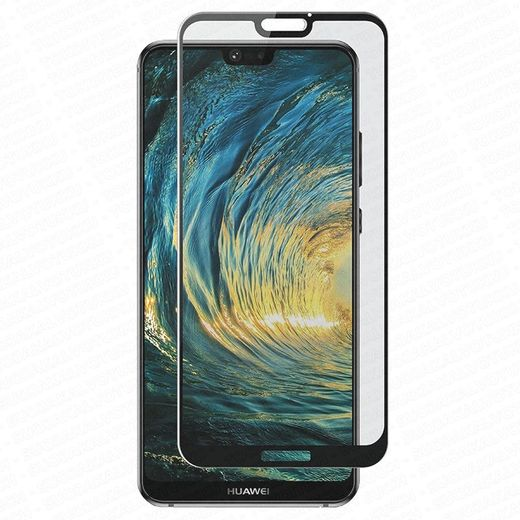 Huawei P20 Lite panssarilasi, 2.5D Full Cover Tempered Glass