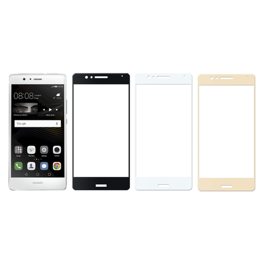 Huawei P9 Lite panssarilasi, 2.5D Full Cover Tempered Glass