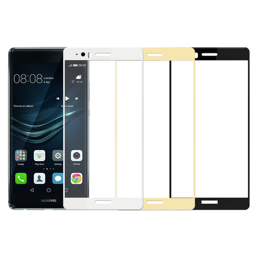 Huawei P9 Plus panssarilasi, 2.5D Full Cover Tempered Glass