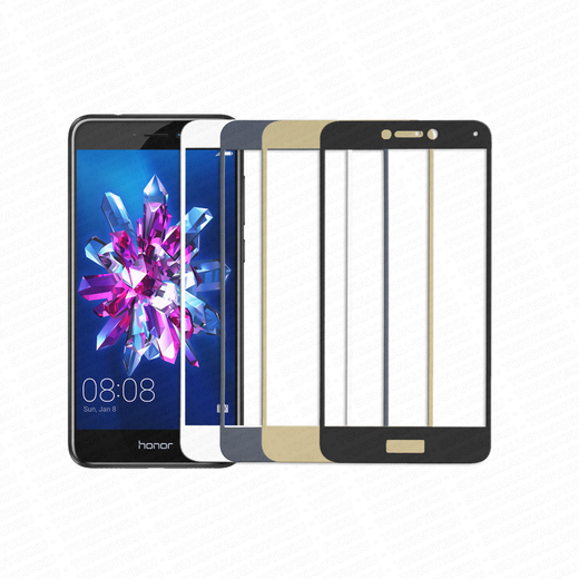 Huawei Honor 8 Lite panssarilasi, 2.5D Full Cover Tempered Glass