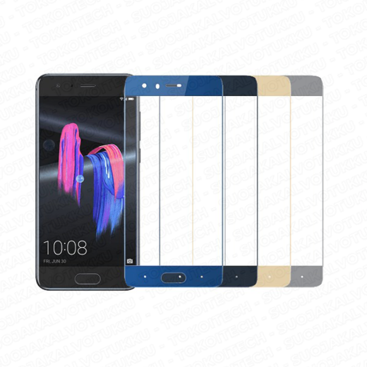 Huawei Honor 9 / 9 Premium panssarilasi, 2.5D Full Cover Tempered Glass