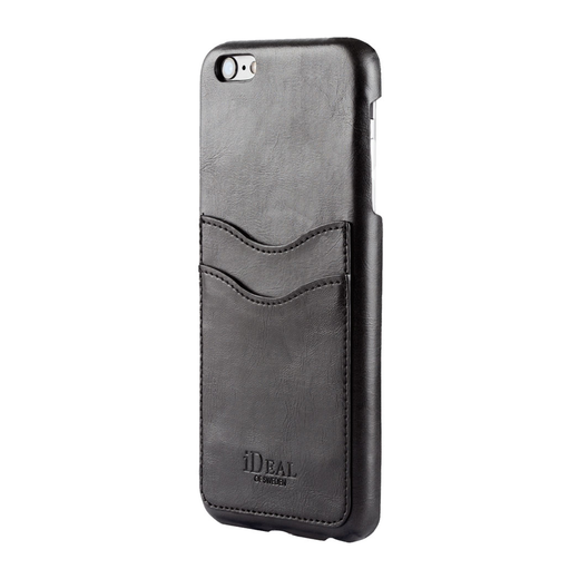 iDeal of Sweden iPhone iPhone 6 / 6S Dual Card Case, Musta