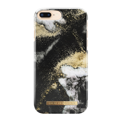 iDeal of Sweden iPhone 6 Plus / 6s Plus / 7 Plus / 8 Plus Fashion Case, Black Galaxy
