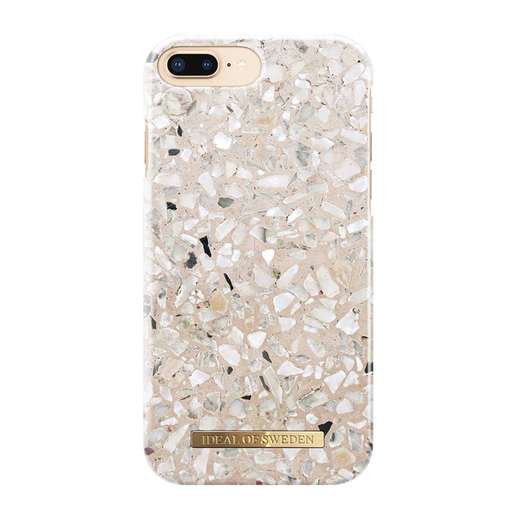 iDeal of Sweden iPhone 6 Plus / 6s Plus / 7 Plus / 8 Plus Fashion Case, Greige Terazzo Marble