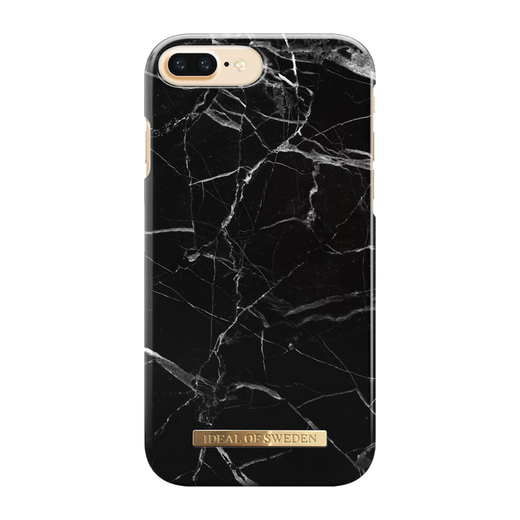 iDeal of Sweden iPhone 6 Plus / 6s Plus / 7 Plus / 8 Plus Fashion Case, Black Marble
