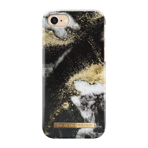 iDeal of Sweden iPhone iPhone 6 / 6S / 7 / 8 / SE 2020 Fashion Case, Black Galaxy