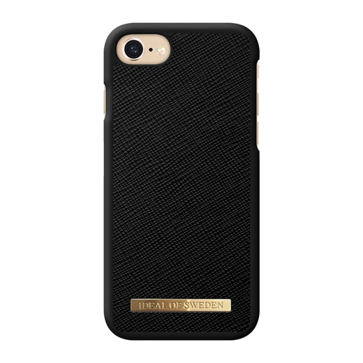 iDeal of Sweden iPhone iPhone 6 / 6S / 7 / 8 / SE 2020 Fashion Case, Black Saffiano