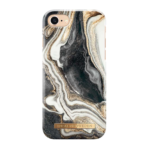 iDeal of Sweden iPhone iPhone 6 / 6S / 7 / 8 / SE 2020 Fashion Case, Golden Ash Marble