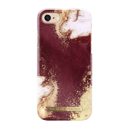 iDeal of Sweden iPhone iPhone 6 / 6S / 7 / 8 / SE 2020 Fashion Case, Golden Burgundy
