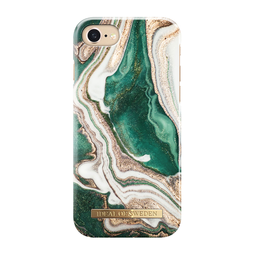 iDeal of Sweden iPhone iPhone 6 / 6S / 7 / 8 / SE 2020 Fashion Case, Golden Jade Marble