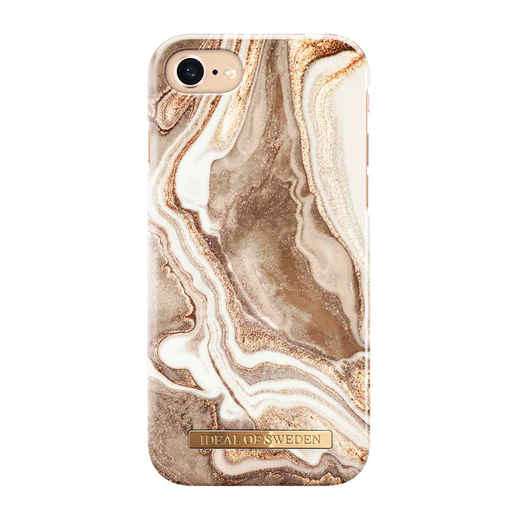 iDeal of Sweden iPhone iPhone 6 / 6S / 7 / 8 / SE 2020 Fashion Case, Golden Sand Marble