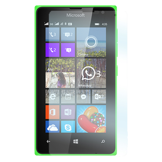 Microsoft Lumia 435 panssarilasi, Tempered Glass