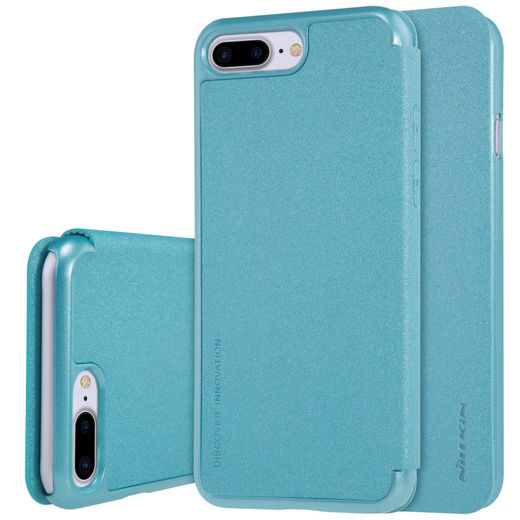 Nillkin Sparkle Flip Case kuoret, iPhone 7 Plus/8 Plus, Sininen