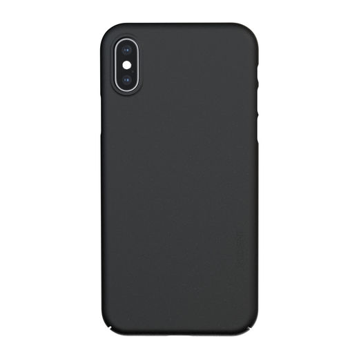 Nudient iPhone X / XS Thin Precise Case V3 -suojakuori, Ink Black