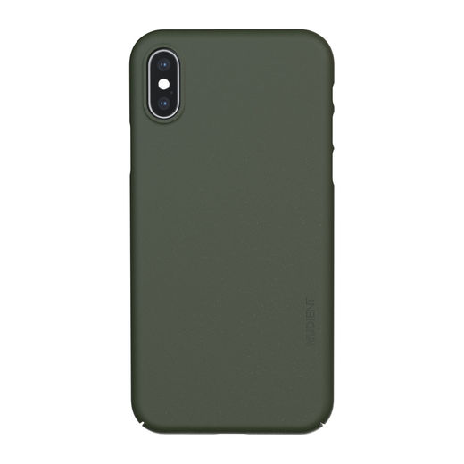 Nudient iPhone X / XS Thin Precise Case V3 -suojakuori, Pine Green