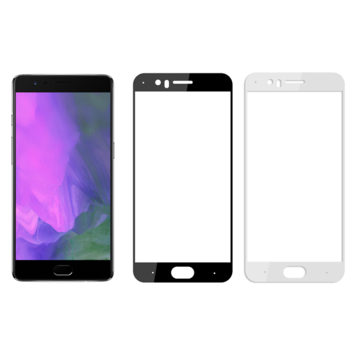 OnePlus 5 panssarilasi, 2.5D Full Cover Tempered Glass