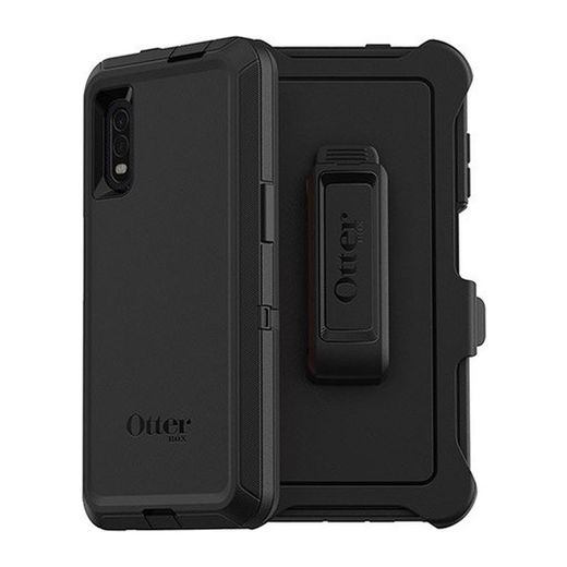 Otterbox Defender, Galaxy Xcover Pro, Musta