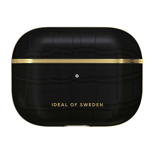 iDeal of Sweden Airpods Pro -suojakuori, Black Croco